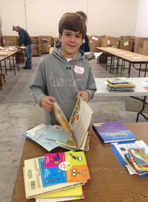 Jack at Book Sort | booksbetweenkids.org